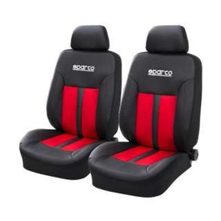 Sparco Seat Cover SPC1018RS (Red/Black)
