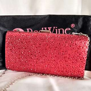Clutch Red by Red Wine