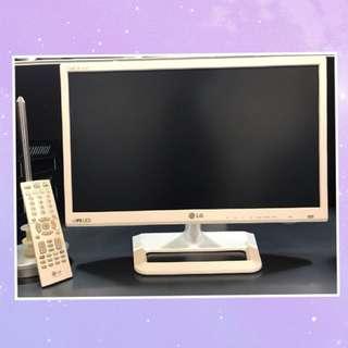 LG 高清 22' LED 全銀幕電視📺 附遙控