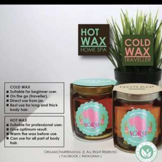 {INSTOCK} Norah Hot and Cold wax