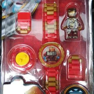 鋼鐵人樂高手錶