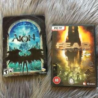 Aion + Fear pc games