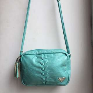 Preloved Roxy Turquoise Small Sling Bag