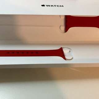 Apple watch s/m 42MM red