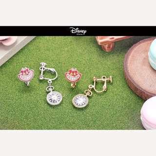 愛麗絲組合夾式耳環