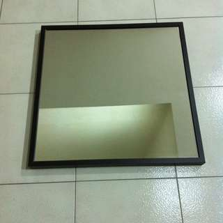 Ikea Stave mirror. In good condition. Dimension 70cm x 70cm.