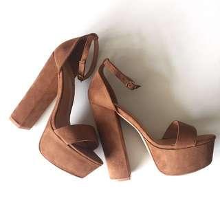 REDUCED PublicDesire Bryn platform high heels