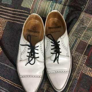 🚚 George cox yohji Yamamoto 山本耀司聯名 雕花尖頭皮鞋
