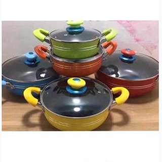 5pcs. Colorful Soup Pot