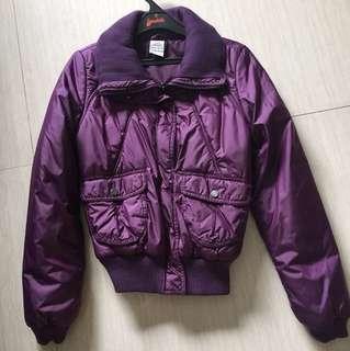 Adidas - purple jacket