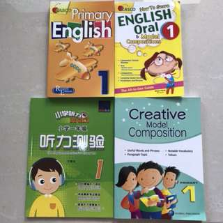 Assorted Books for P1