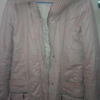 淺粉色冬褸