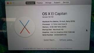 Apple macbook August 2016