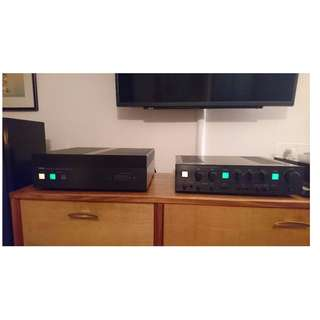 Yamaha C4M4 Combo Stereo Control & Stereo Power Amplifier