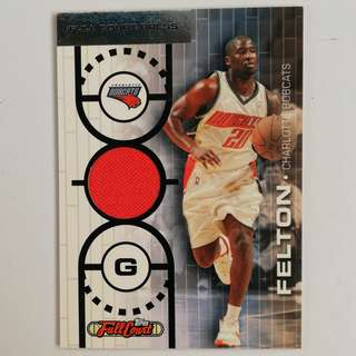 Topps NBA Basketball Relic #/499 Raymond Felton Charlotte