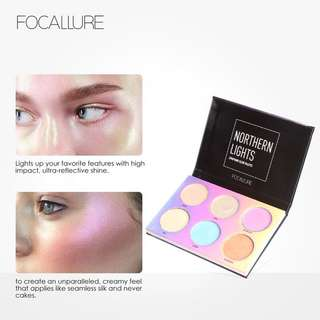 Focallute Northern Light Symphony Glow Pallette