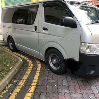 Toyata HIACE Euro 5 auto (Cargo)