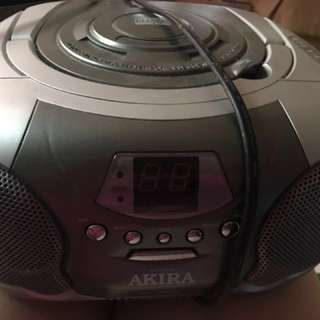Radio with cd function