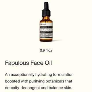 Aesop Fabulous Oil