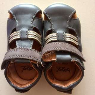 BOBUX Baby Shoe / Children Shoe - Charcoal Intrepid Sandals (EU 19)