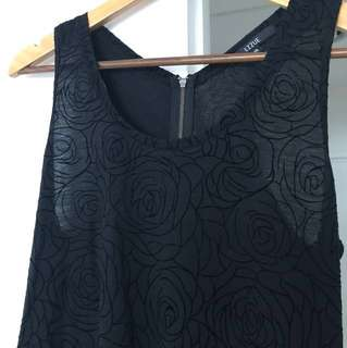 Rose patterned Dress