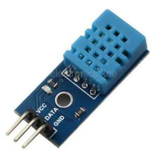 DHT11 Temperature and Humidity Sensor Module for Arduino