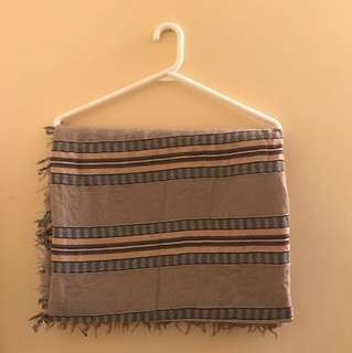 "Wilfred ""Mixed Stripes"" Blanket Scarf"