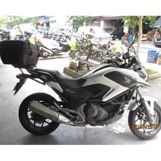 Honda NC750X  2015 $16.2K Nego D/P $500 or $0 With out insurance (Terms and conditions apply. Pls call 67468582 De Xing Motor Pte Ltd Blk 3006 Ubi Road 1 #01-356 S 408700.