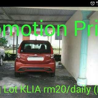 Cheap KLIA Parking Lot (promo)