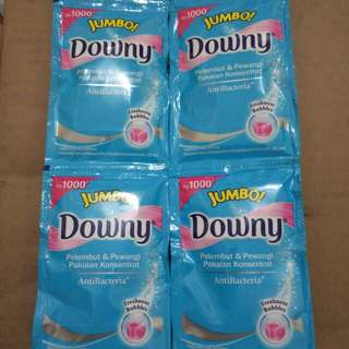 downy anti bacteria Jumbo! 22 ml jual per renceng 12 pcs