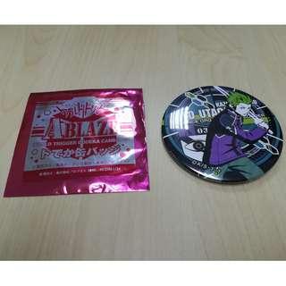 World Trigger Dodeka Can Badge - Ryo Utagawa (-ABLAZE-)
