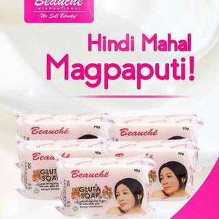 Beauche gluta soap whitenening