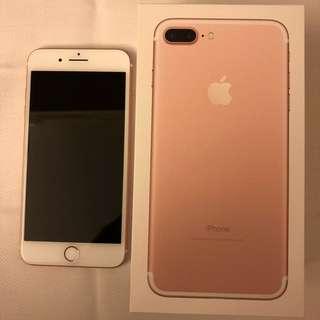 IPhone 7 Plus 128G Rose Gold