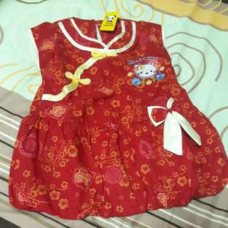 Dress Imlek Cheongsam Baby