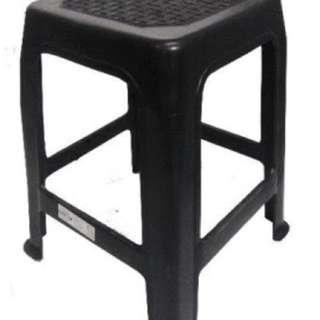 Charity Sale! Black Hannita Stools Black Chair