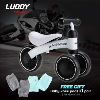 WHITE - Luddy Minibike / Balance Bike