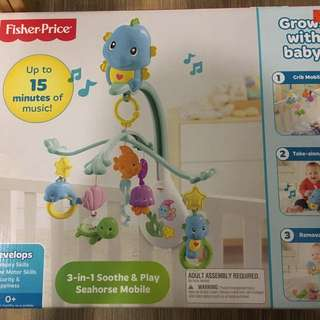 Fischer Price 3-in-1 Seahorse Mobile