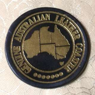 澳洲真皮杯墊