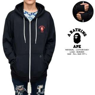 jaket bape - sweater bape - jaket sweater bape
