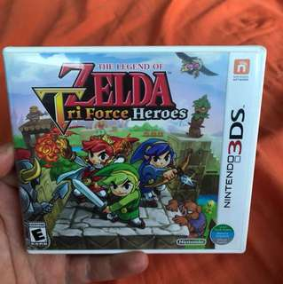 3DS The Legend Of Zelda - Tri Force Heroes