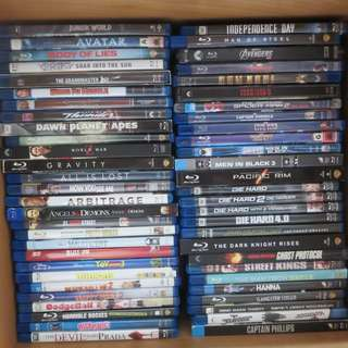 FS: Used Blu ray discs