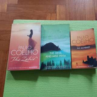 Paul Coelho  The Devil And Miss Prym The Zahir The Alchemist ( SOLD)