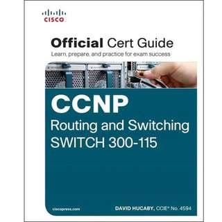 Cisco Press CCNP Routing and Switching SWITCH 300-115 Official Cert Guide