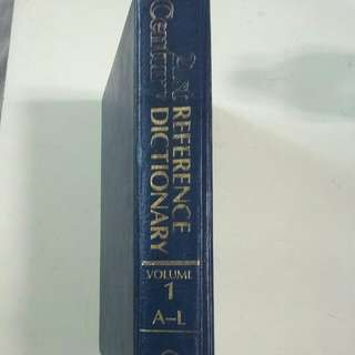 21st REFERENCE CENTURY DICTIONARY VOLUME 1TO 32