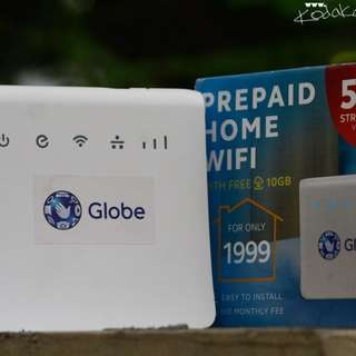 Globe home bro prepaid wifi router nearly new