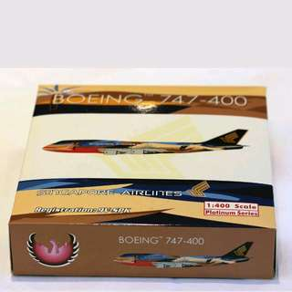 Phoenix 1:400  Sia Airlines  747 - 400  'Topical'