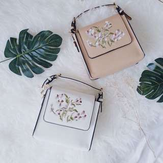 Embroidery Floral/Flower Bag