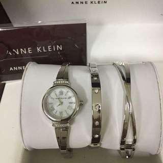 ANNE KLEINS WATCH SET