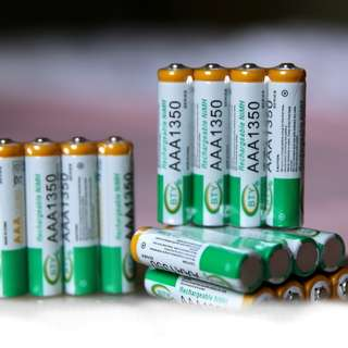 Instocks) 4pcs AAA rechargeable battery 1350mAh 1.2V NIMH For Toys/Game Camera Remote Sale Flashing lights