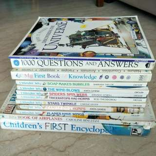 Science and stories books